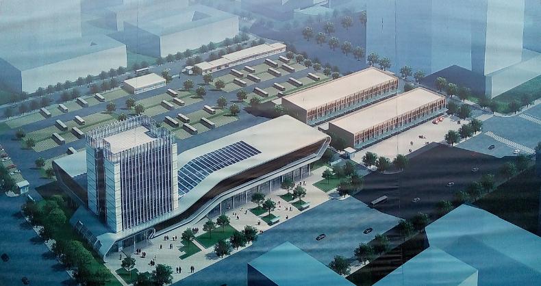 商用网桥、安防助信阳光山县客运站打造