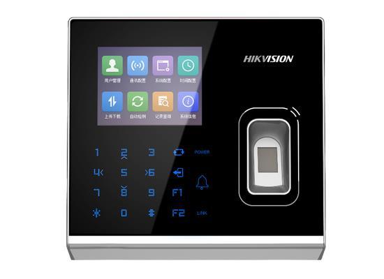 海康DS-K1T301系列电容式指纹门禁一体机